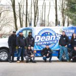 dean's van and technicians
