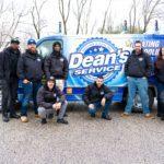 dean's van and crew