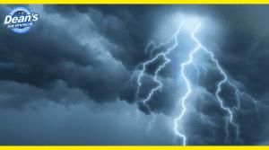 hvac unit storm