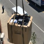 air conditioner crane
