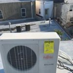 HVAC air conditioner condenser