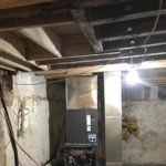 HVAC System installation basement thumbnail