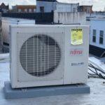 ac condenser roof