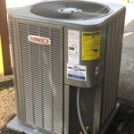 HVAC System ac outside