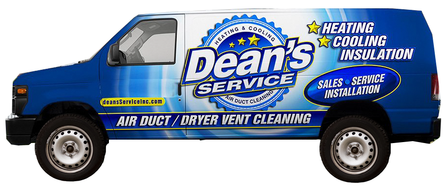 dean's work van